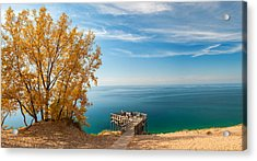 Acrylic Print featuring the photograph Sleeping Bear Overlook by Larry Carr