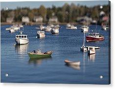 Sleeping Boats Acrylic Print by Jon Glaser