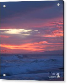 Acrylic Print featuring the photograph Soft Sunset by Michelle Wiarda
