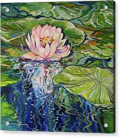 Solitude Waterlily Acrylic Print