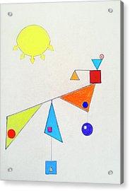 Something New Under The Sun Acrylic Print