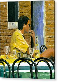 Somewhere In Venice Acrylic Print by Michael Swanson