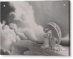 Sorrow Acrylic Print by Elizabeth Dobbs