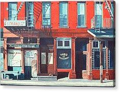 South Street Acrylic Print by Anthony Butera