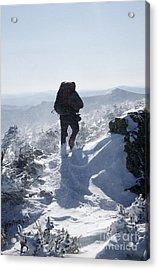 South Twin Mountain - White Mountains New Hampshire Acrylic Print by Erin Paul Donovan