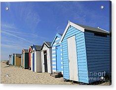 Southwold Beach Huts Acrylic Print