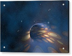 Space Abstract Acrylic Print