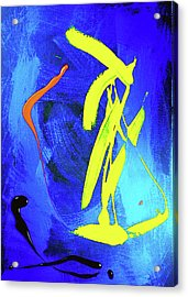 Acrylic Print featuring the photograph Space Dance by Elf Evans