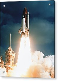 Space Shuttle Launch Acrylic Print by NASA Science Source