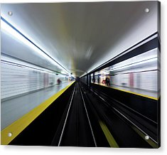 Acrylic Print featuring the photograph Speed 3 by Brian Carson
