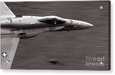 Speed Of Sound Acrylic Print by Angel  Tarantella
