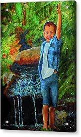 Splash Acrylic Print by Michael Durst