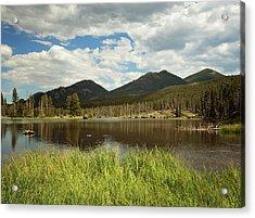 Sprague Lake Acrylic Print