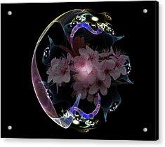 Spring Fractal Acrylic Print