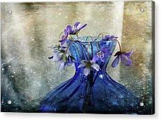 Spring Greeting Acrylic Print by Randi Grace Nilsberg