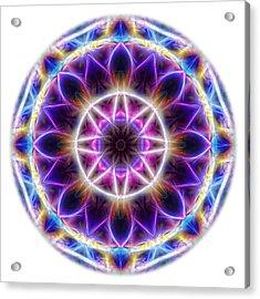 Spring Energy Mandala 2 Acrylic Print
