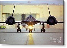 Sr-71 Blackbird, 1990s Acrylic Print