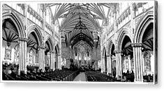 St Dunstans Basilica Acrylic Print