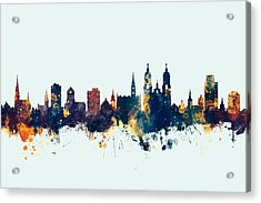 St Gallen Switzerland Skyline Acrylic Print