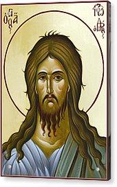 St John The Forerunner Acrylic Print by Julia Bridget Hayes
