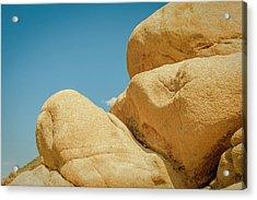 Stacked Boulders Joshua Tree Acrylic Print by Amyn Nasser