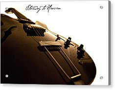 Stairway To Heaven Acrylic Print by Christopher Gaston