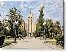 Kudrinskaya Square Acrylic Print