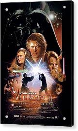 Star Wars Episode I - The Phantom Menace 1999  Acrylic Print