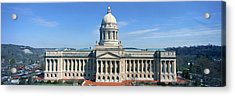 State Capitol Of Kentucky, Frankfort Acrylic Print by Panoramic Images