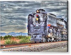 Steam Train No 844 Acrylic Print