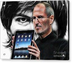Steve Jobs Collection Acrylic Print by Marvin Blaine