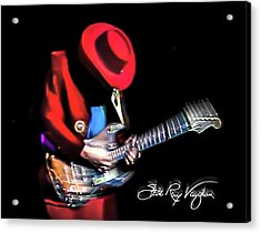 Stevie Ray Vaughan - Texas Flood Acrylic Print