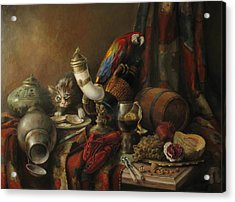Still-life With A Lobster Acrylic Print