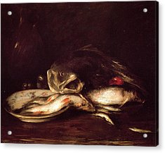 Still Life With Fish Acrylic Print