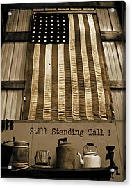 Still Standing Tall Acrylic Print by Joanne Coyle