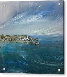 St.ives, Cornwall, Uk  Acrylic Print