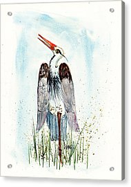 Jenifer's Friend - George #1 Acrylic Print