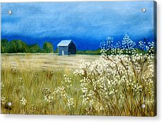 Stormy Afternoon Acrylic Print by Jan Amiss