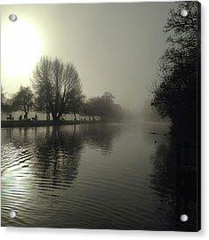 River Avon At Stratford. Acrylic Print