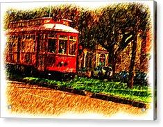 Street Car Acrylic Print
