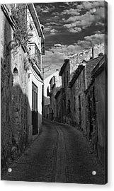 Street Little Town Acrylic Print