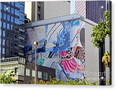 Street Photography Acrylic Print by Clayton Bruster