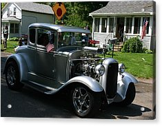 Street Rod Acrylic Print by Vincent Duis