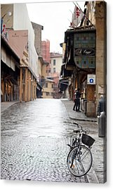Streets Of Florence Acrylic Print by Andre Goncalves