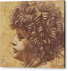 Study Of A Child's Head Acrylic Print