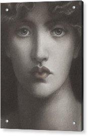 Study Of Jane Morris Acrylic Print
