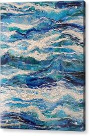 Suite Madam Blue Acrylic Print by Jane Biven