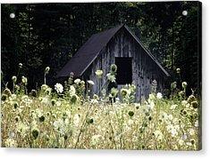 Summer Barn Acrylic Print by Rob Travis
