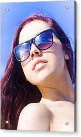 Summer Fashion Acrylic Print