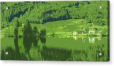 Summer In Norway Acrylic Print by Ringberto Romero